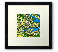 Brasilia, Brazil Framed Print