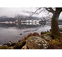 Winter at Rydal water Photographic Print