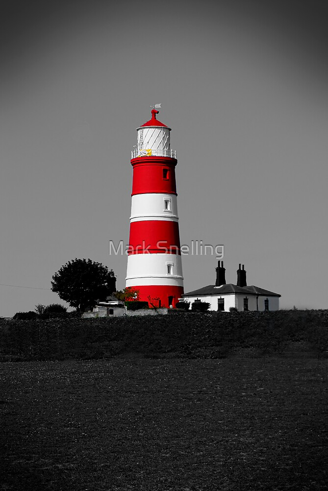 Happisburgh Lighthouse, Norfolk, UK by Mark Snelling