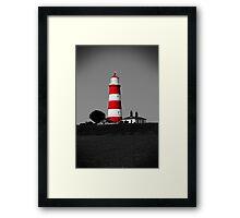 Happisburgh Lighthouse, Norfolk, UK Framed Print
