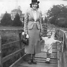 1938 Me and my mum by Woodie