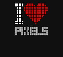 I love pixels Womens Fitted T-Shirt
