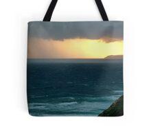Sunset Rain, Cape Otway,Great Ocean Road Tote Bag