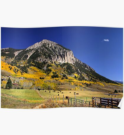 Crested butte Poster