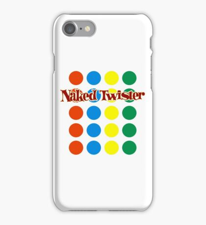 Naked Twister  iPhone Case/Skin