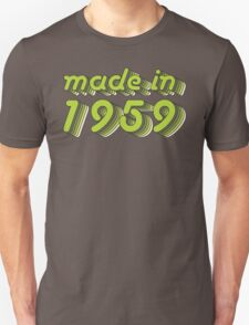 Made in 1959 (Green&Grey) T-Shirt