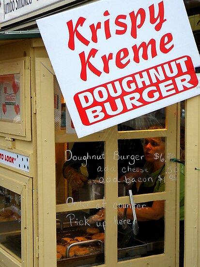 Doughnut Burger Anyone ??? ~ Part One by artisandelimage