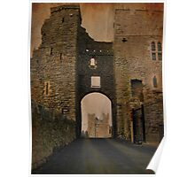 Swords Castle gate Poster