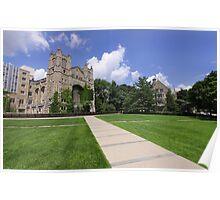 University Of Michigan Poster