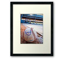 Base Ball Framed Print
