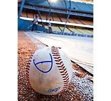 Base Ball Photographic Print