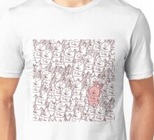 pink rabbit & dead rabbits Unisex T-Shirt