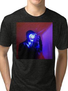A Face Like A Christmas Tree Tri-blend T-Shirt