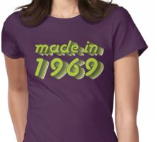 Made in 1969 (Green&Grey) Womens Fitted T-Shirt