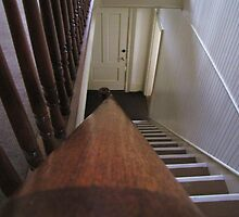 Down The Bannister....Lighthouse, Salem, Ore. by trueblvr