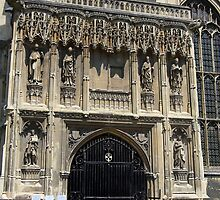 Main Entrance Canterbury Cathedral by Carole-Anne