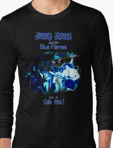 Jimmy James and the Blue Flames Jimi Hendrix Long Sleeve T-Shirt