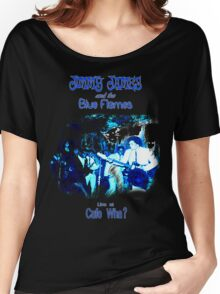 Jimmy James and the Blue Flames Jimi Hendrix Women's Relaxed Fit T-Shirt