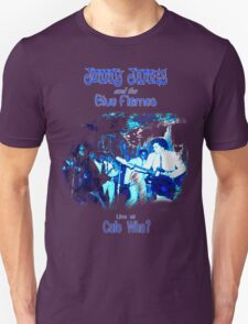 Jimmy James and the Blue Flames Jimi Hendrix T-Shirt