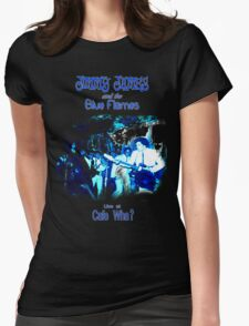 Jimmy James and the Blue Flames Jimi Hendrix Womens Fitted T-Shirt