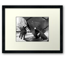 Weight if the World Framed Print