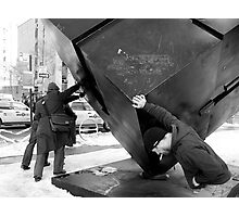 Weight if the World Photographic Print