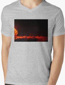 Magic Mist Mens V-Neck T-Shirt