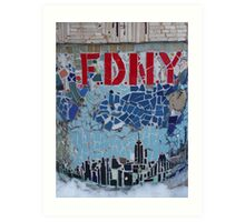 FDNY Art Print