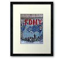 FDNY Framed Print