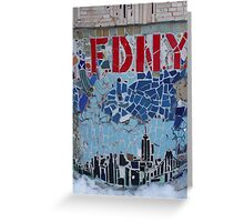 FDNY Greeting Card