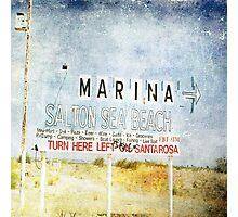 Salton Sea Beach Photographic Print
