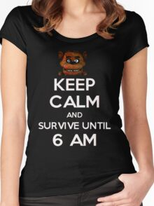 Five Nights at Freddy's Women's Fitted Scoop T-Shirt