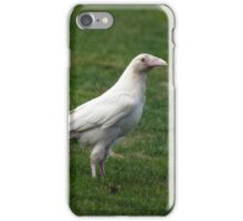 """Canada's White Minority"" Rare White Raven iPhone Case/Skin"