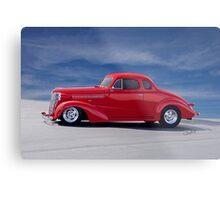 1938 Chevrolet Coupe 'Profile' Metal Print