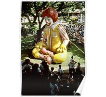 Ronald McDonald in Manila. Poster