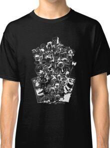 3D Movie Maker Actors (No Text Invert) Classic T-Shirt