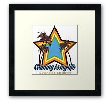 Gaming is my life Framed Print