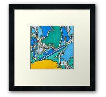 Kingstown, Saint Vincent And The Grenadines Framed Print