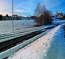 The end of the railroad II | landscape photography by Patrick Jobst