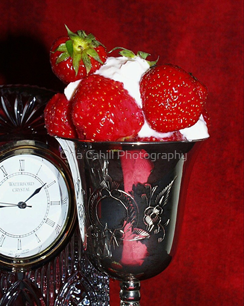 Strawberries & Cream by Orla Cahill Photography