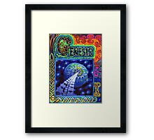Genesis cover Framed Print
