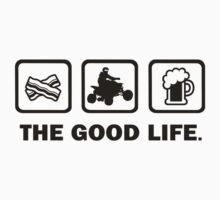 Bacon ATV Beer The Good Life by DesignMC