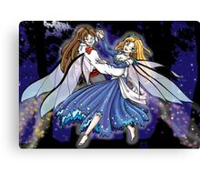 Dancing Faeries Canvas Print