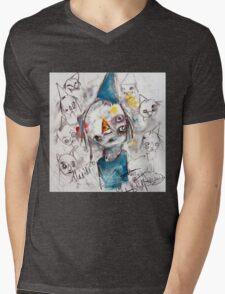 Voices in My Head Mens V-Neck T-Shirt