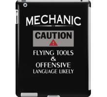 MECHANIC Safety iPad Case/Skin