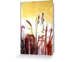 sun in Rice Greeting Card