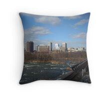 Skyline Richmond, Virginia Throw Pillow
