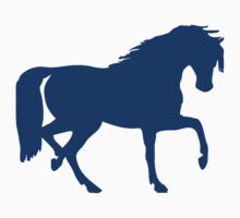 Trotting Horse Silhouette by tshirtdesign