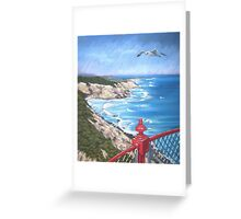 View from the Lighthouse Greeting Card