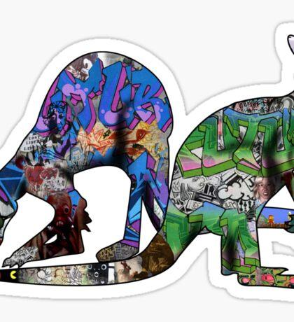 Urban Kangaroos Sticker